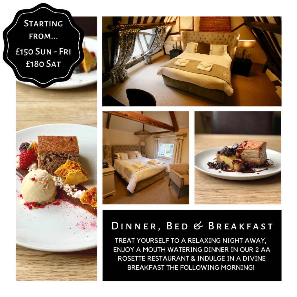 Dinner, Bed & Breakfast - Kings Head Bawburgh