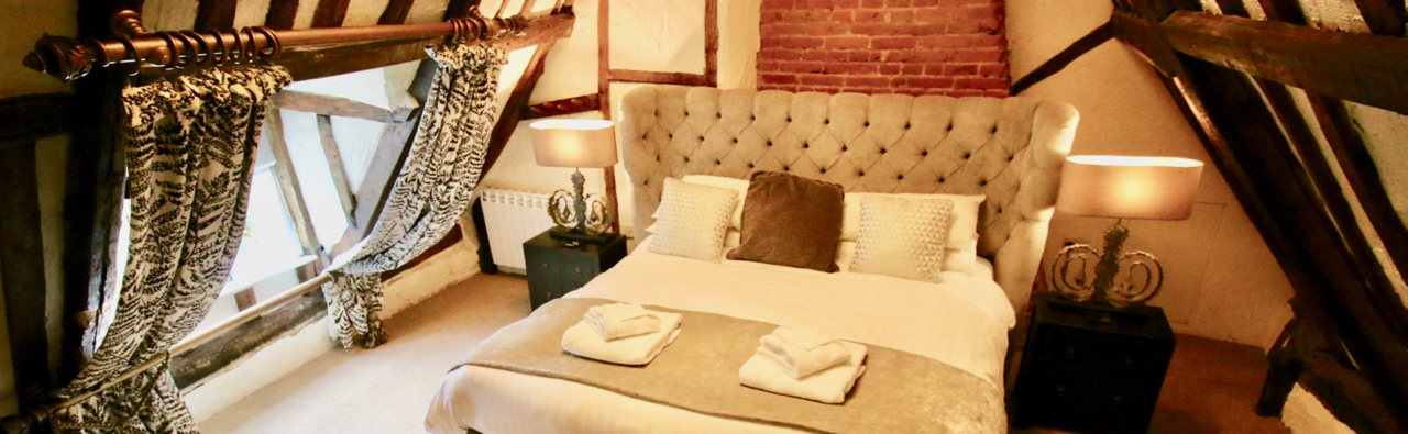 Boutique B&B rooms