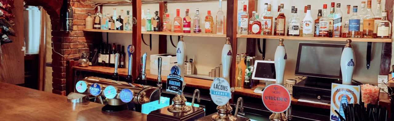 An incredible range of local ales, spirits and wines