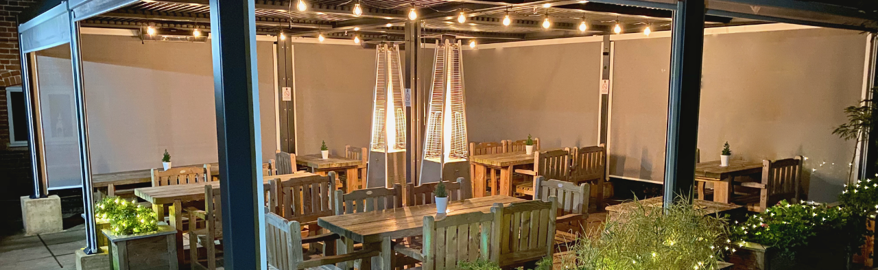 Alfresco Dining Is Here